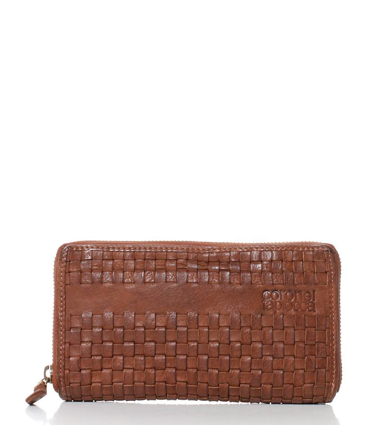 Comprar Coronel Tapiocca Leather wallet Teide -10,5x18,5 cm-