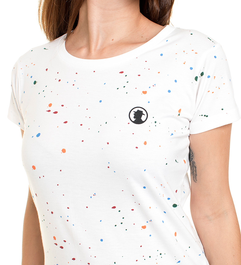 Coronel Tapiocca Camiseta Alika blanco