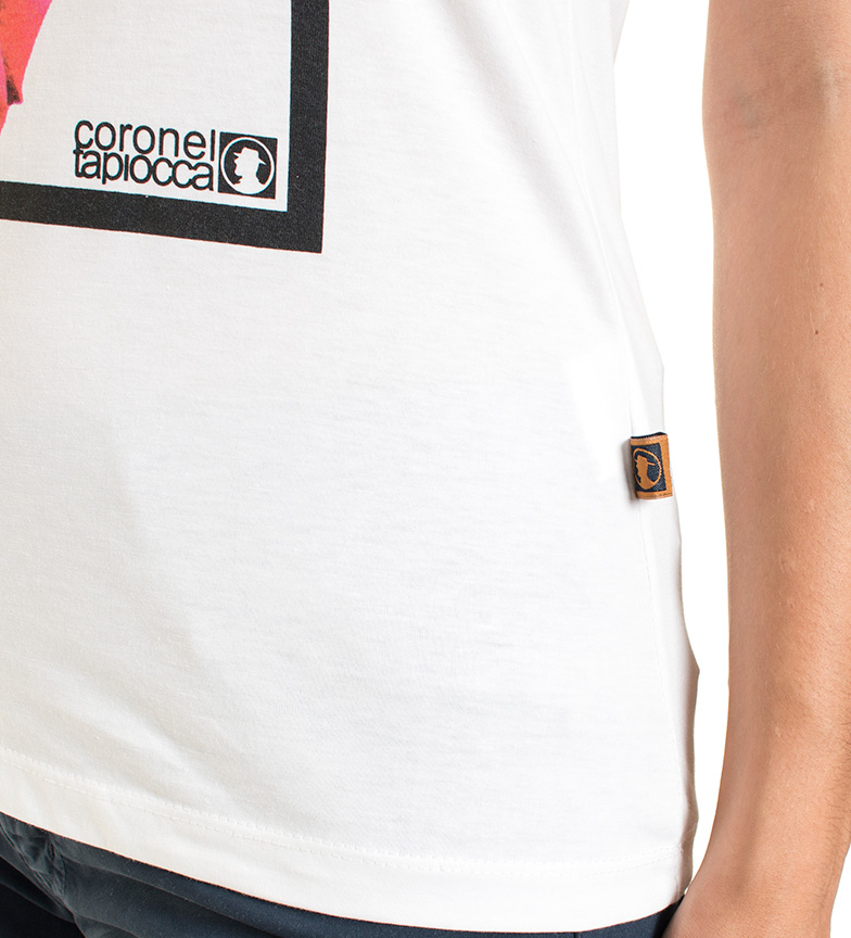 Coronel Tapiocca Camiseta Leiza blanco