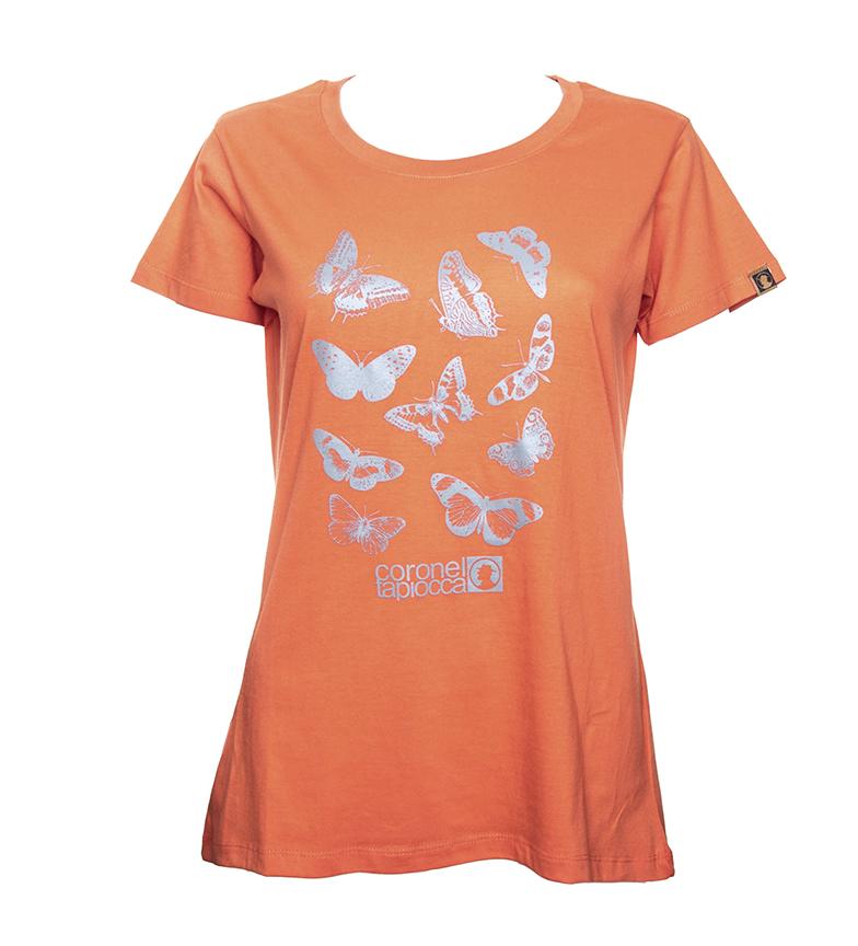 Comprar Coronel Tapiocca Camiseta Mariposa naranja