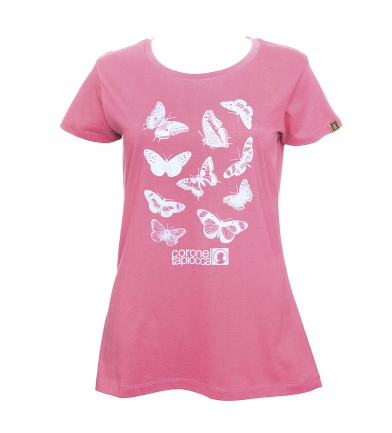Comprar Coronel Tapiocca T-shirt papillon rose