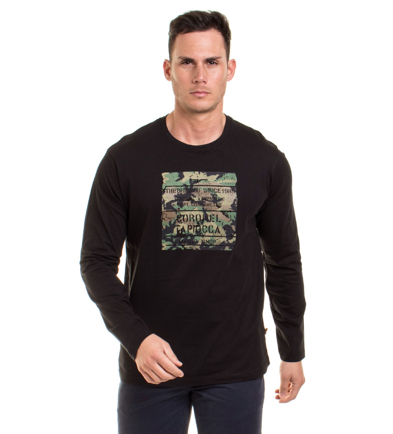 Comprar Coronel Tapiocca Since Black shirt