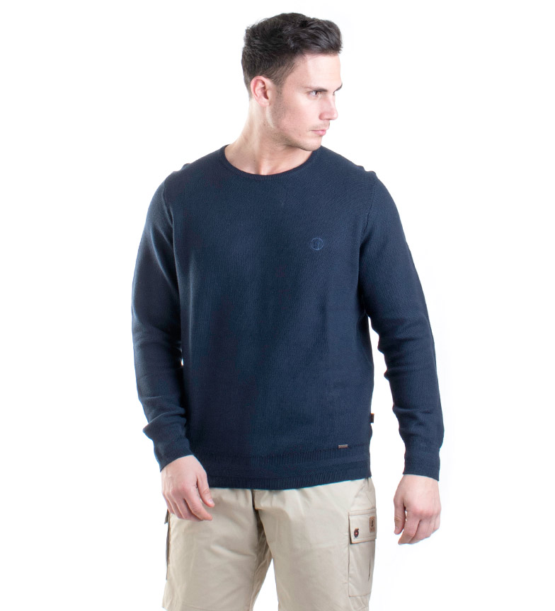 Comprar Coronel Tapiocca Navy Ulpia knit sweater