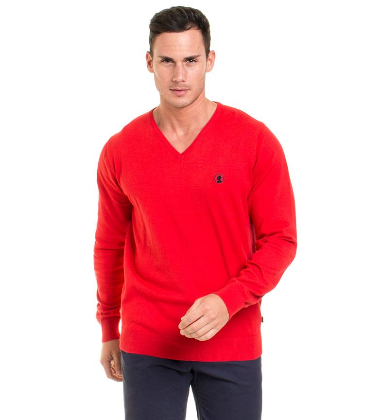 Comprar Coronel Tapiocca Fynn camisa vermelha