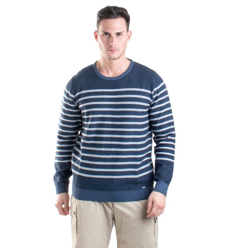 Comprar Coronel Tapiocca Navy Ovidi sweater, striped