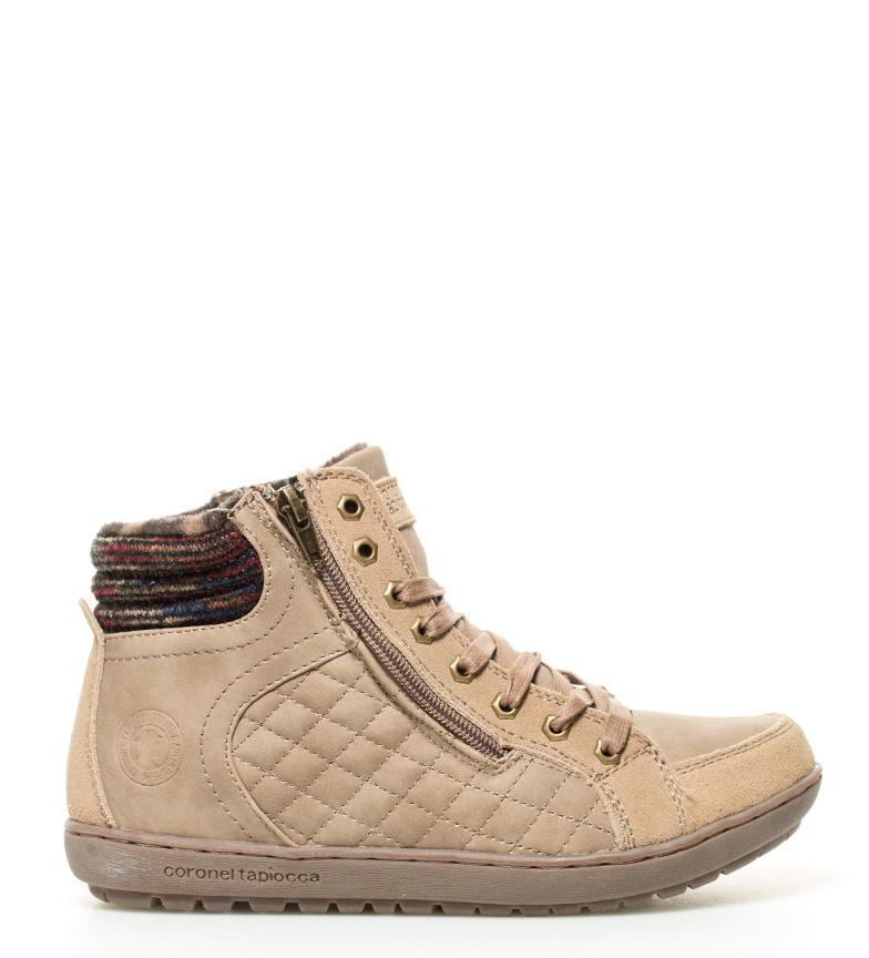 Comprar Coronel Tapiocca Beige Suede Shoes