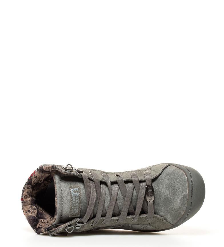 Coronel Tapiocca Zapatillas abotinadas gris