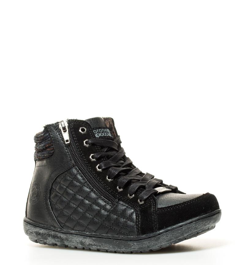 Zapatillas Negro Zapatillas Abotinadas Coronel Coronel Tapiocca Abotinadas Tapiocca Negro YyIb6gvf7