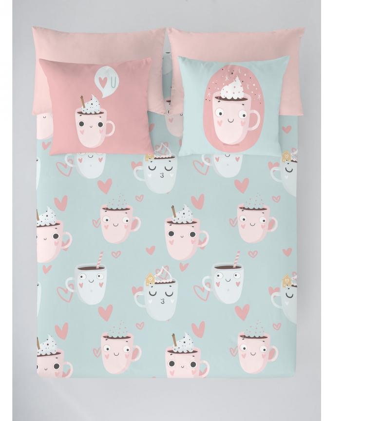Comprar Costura Enveloppe de couette Funny Cups - Lit 150cm