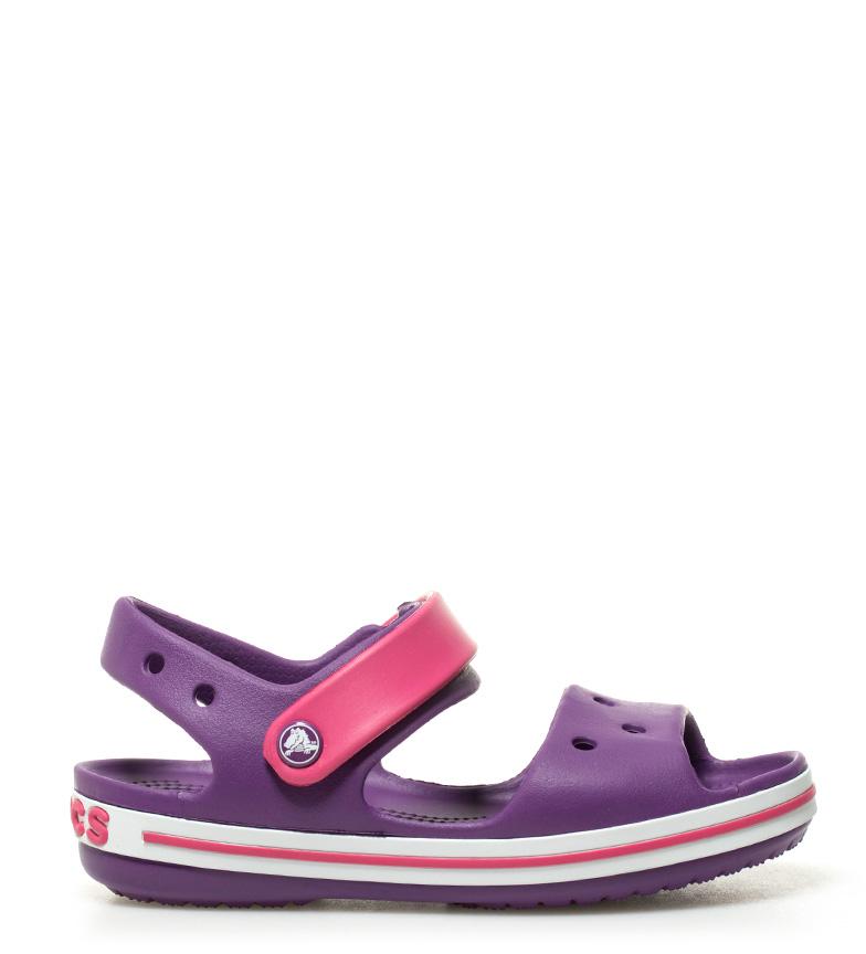 Comprar Crocs Sandalia Crocband rosa, lila