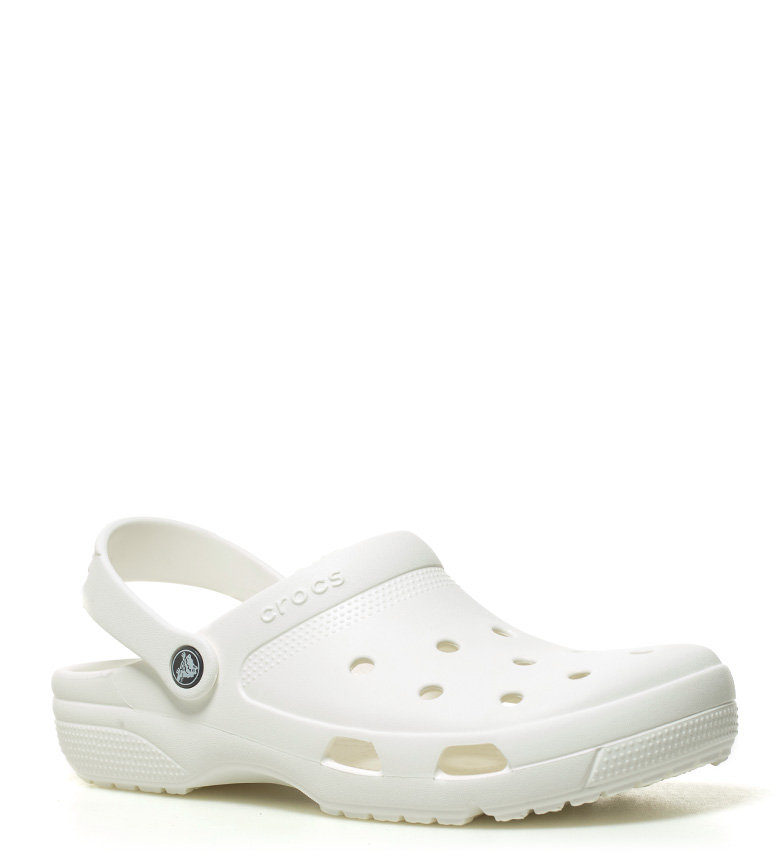 Crocs blanco Zueco Crocs Zueco Coast Crocs Zueco Coast blanco TqgxAPTr