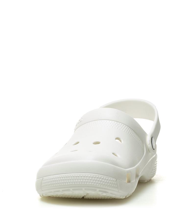 Crocs Zueco Coast blanco