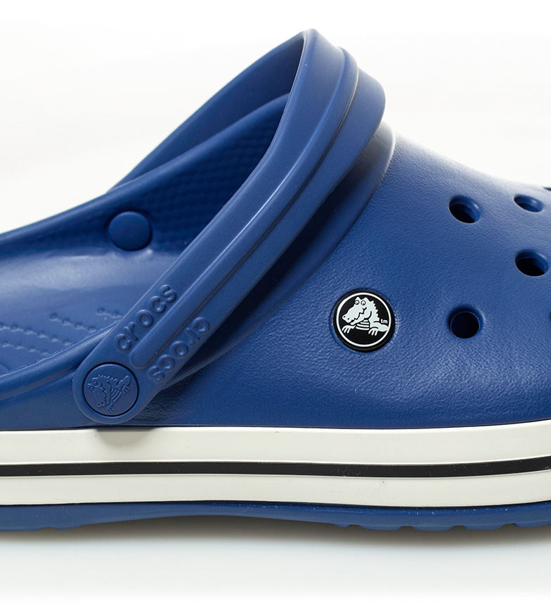 Crocs Crocs beige Zueco azul Zueco Crocband qwRZ8