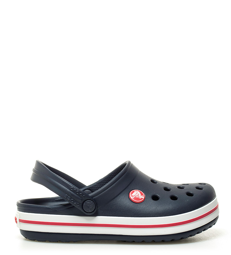 Comprar Crocs Zueco Crocband marino, rojo