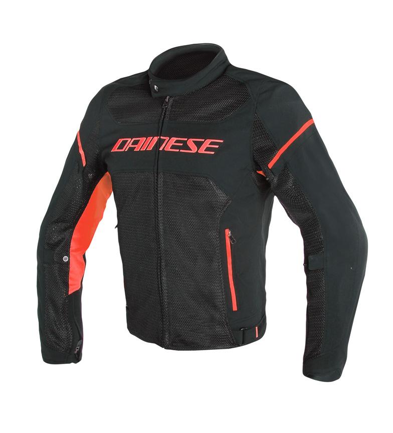 Comprar Dainese Air Frame S1 Tex jaqueta preta, vermelha