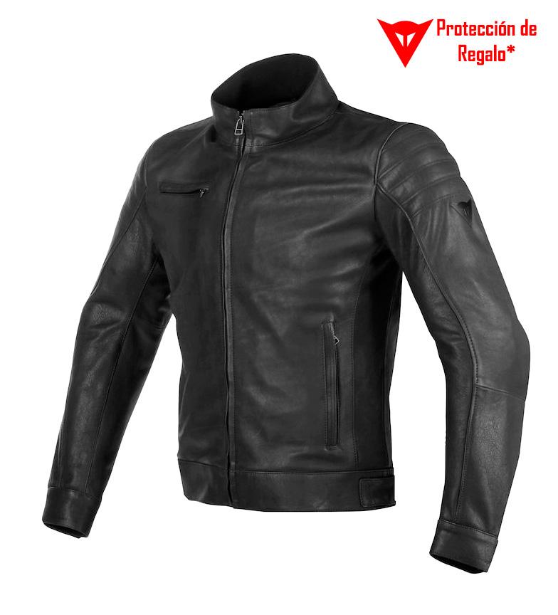 Comprar Dainese Bryan leather jacket black