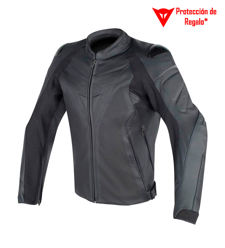 Comprar Dainese Veste en cuir Fighter noir