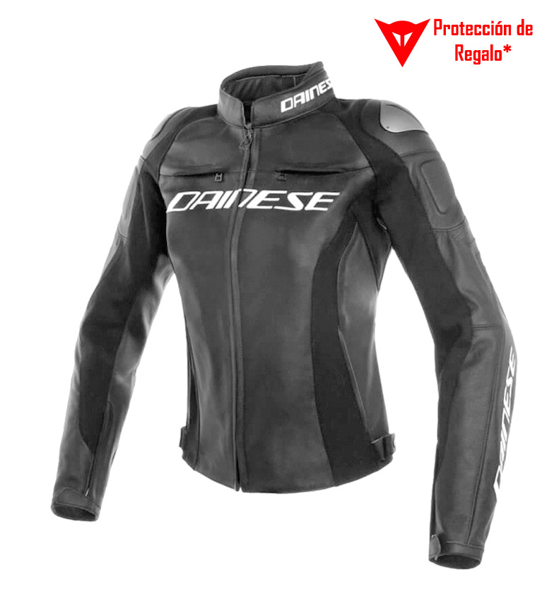 Comprar Dainese Veste en cuir Racing 3 Lady Perforated noir