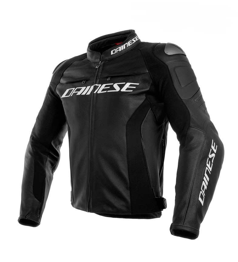 Comprar Dainese Racing leather jacket 3 black, white