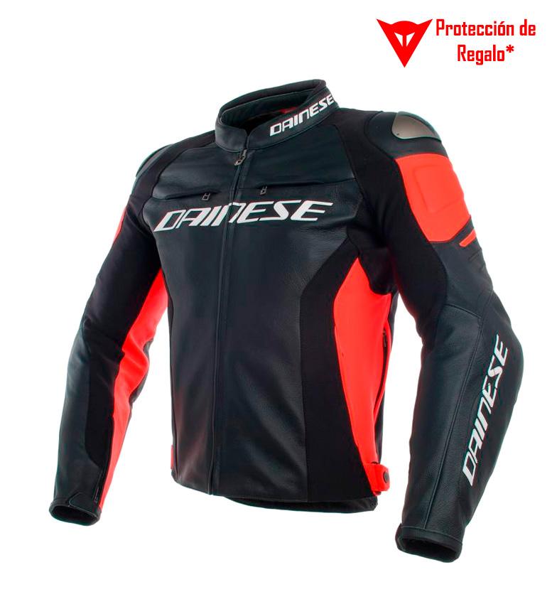Comprar Dainese Veste en cuir Racing 3 noir, rouge