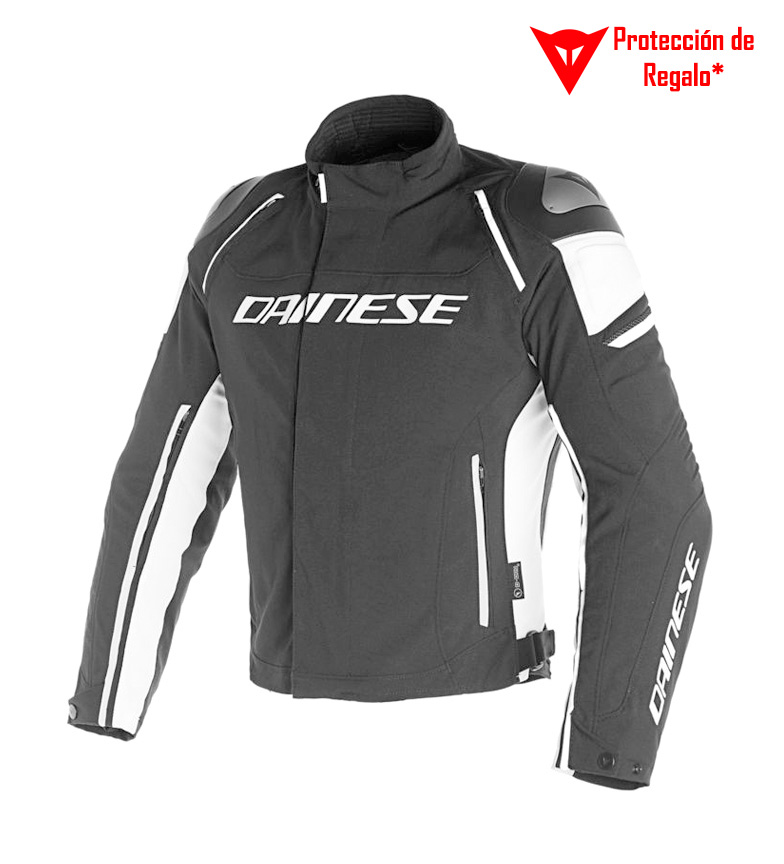 Comprar Dainese Chaqueta Racing 3 D-Dry negro, blanco