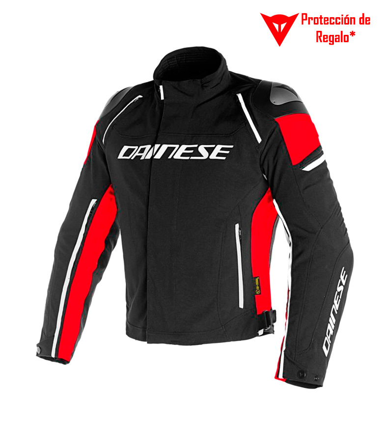 Comprar Dainese Chaqueta Racing 3 D-Dry negro, rojo