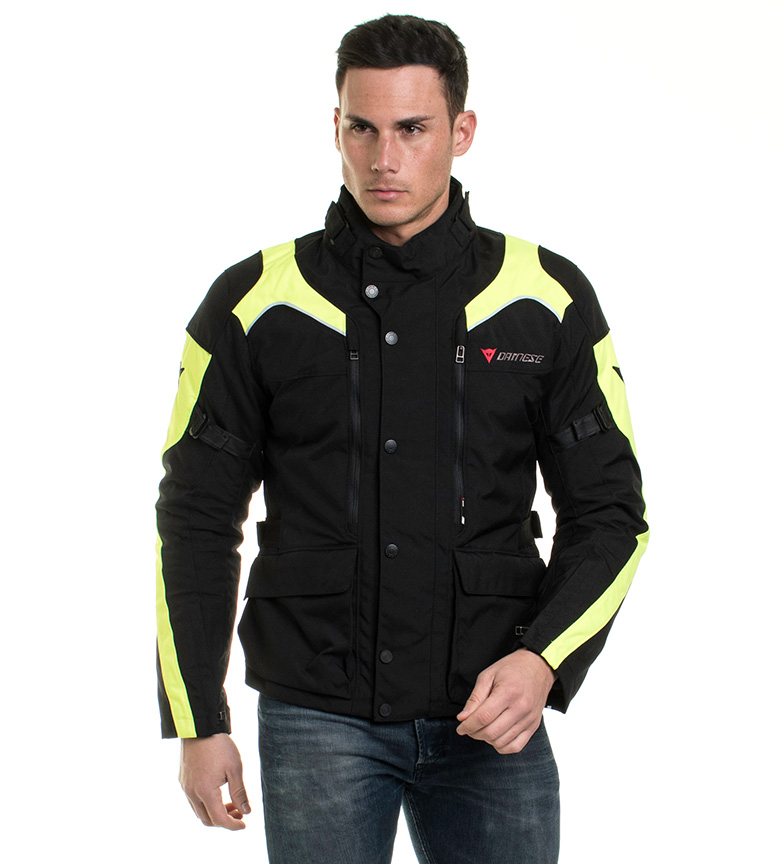 Comprar Dainese Jacket Tempest D -Dry Black, yellow