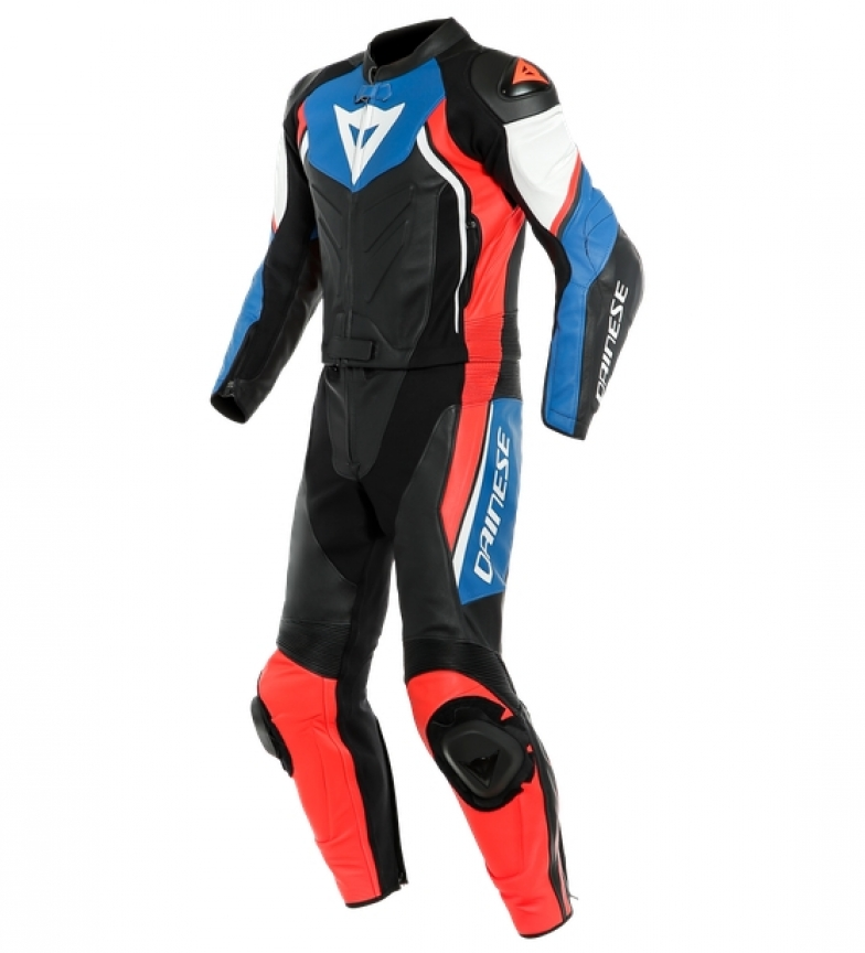 Comprar Dainese Avro D2 2 piece SUIT leather coverall black, blue, red