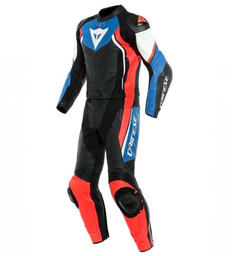 Comprar Dainese Avro D2 2 peças SUIT leather coverall preto, azul, vermelho