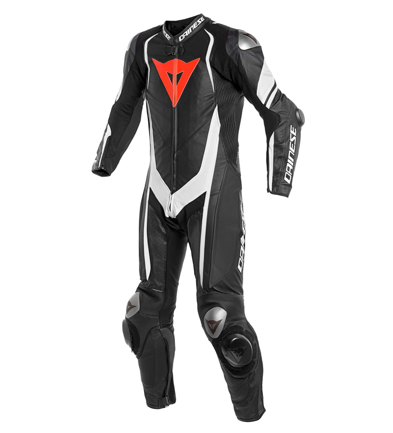 Comprar Dainese Skin monkey Kyalami 1Pc. Suit perforated black, white, red