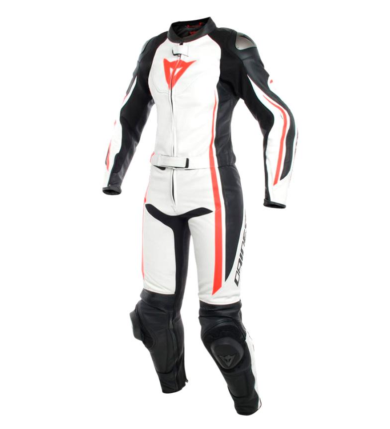 Comprar Dainese Mono de piel Assen 2 Piezas Suit negro, blanco