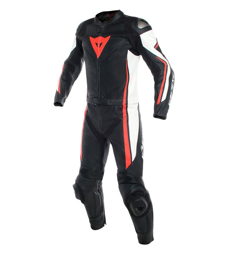 Comprar Dainese Mono de piel Assen 2 Piezas Suit negro, rojo
