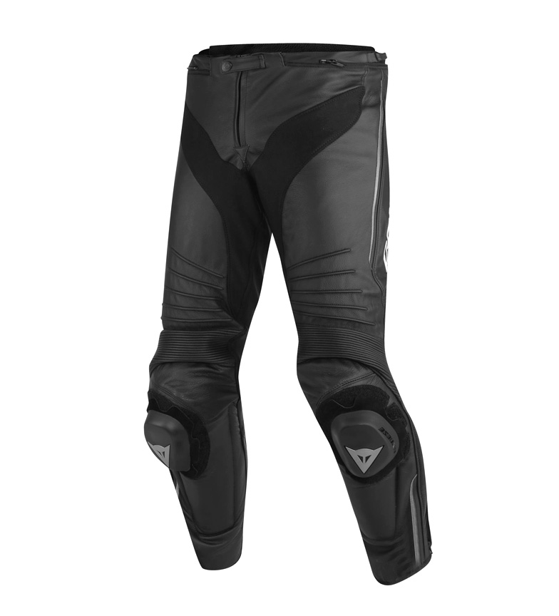 Comprar Dainese Black perforated Misano leather pants