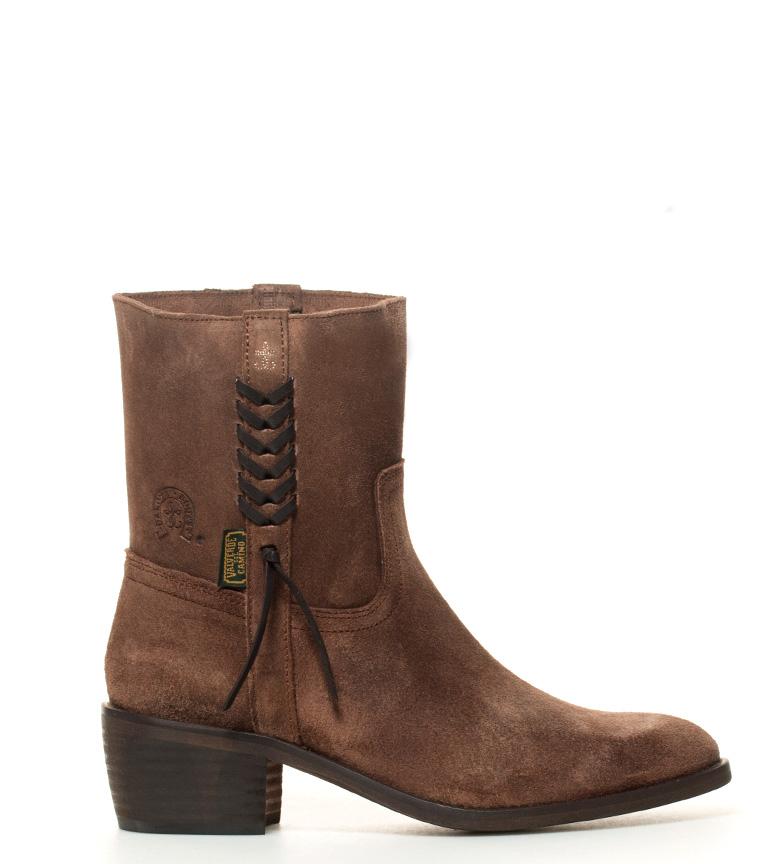 Comprar DAKOTA BOOTS Veste peau Boot grasatto talon -Atura taupe: 5cm-