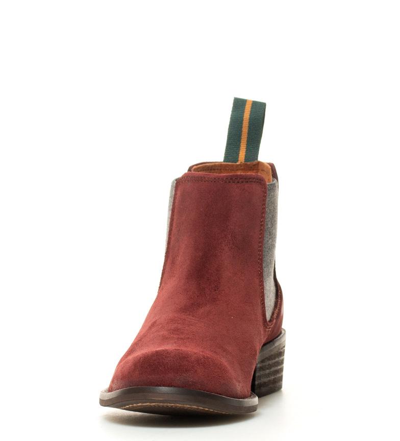 burdeos Atura Bota BOOTS de 4cm grasatto campera en DAKOTA color i tacón i piel P1xvqAZA