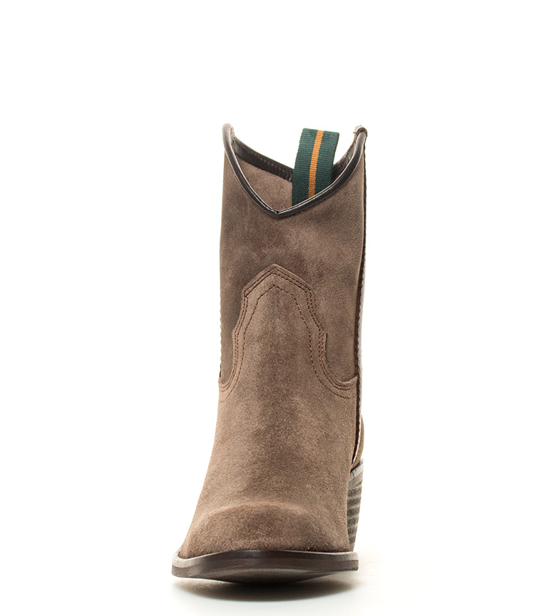 tacón gris de i en 5cm Atura grasatto BOOTS color piel campera i Bota DAKOTA qw7gf7