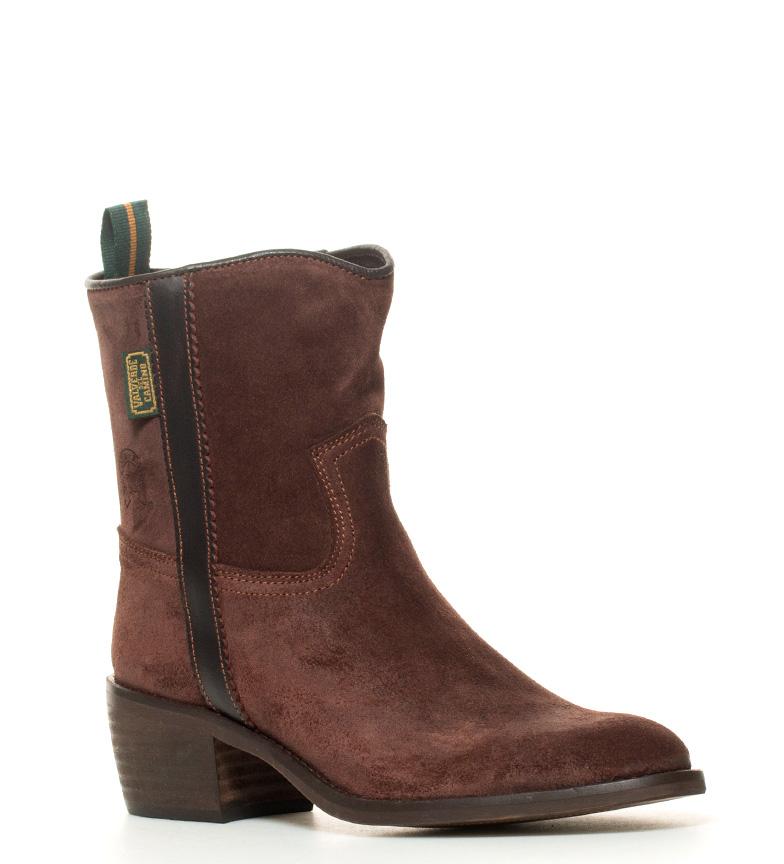 5 5cm campera color Bota de i BOOTS en marrón tacón grasatto piel i DAKOTA Atura 6OZHq16n