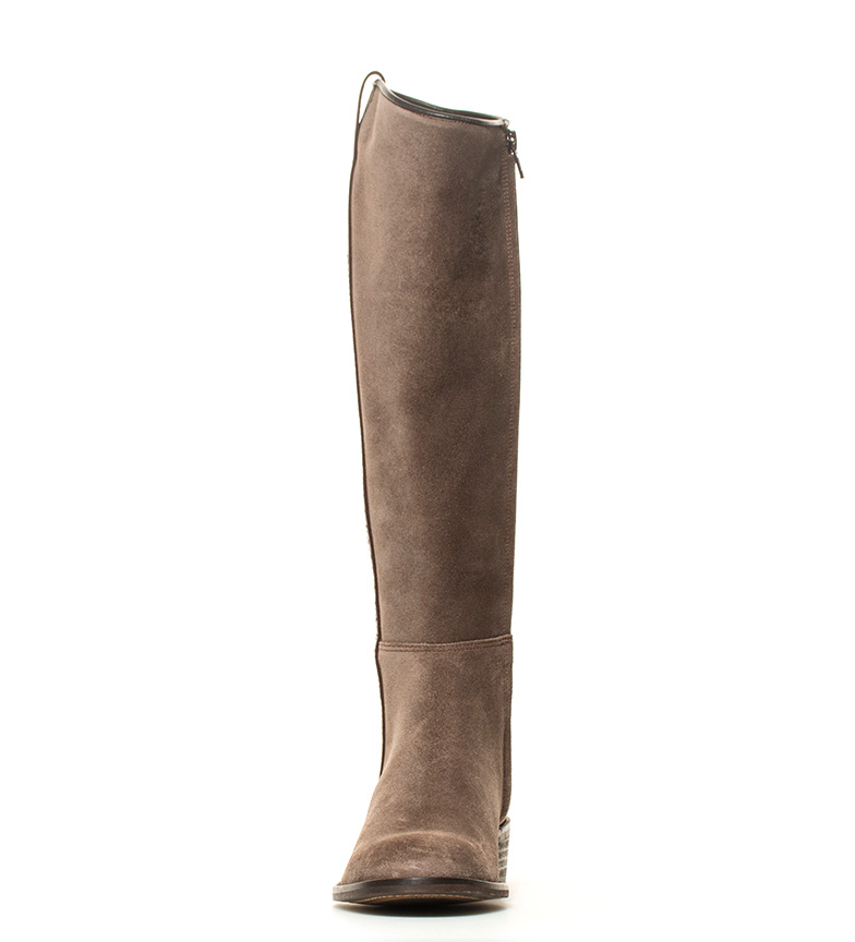 marrón i campera i grasatto en Bota DAKOTA piel BOOTS qXBX8