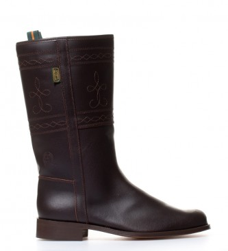 Comprar DAKOTA BOOTS Boot of leather in brown