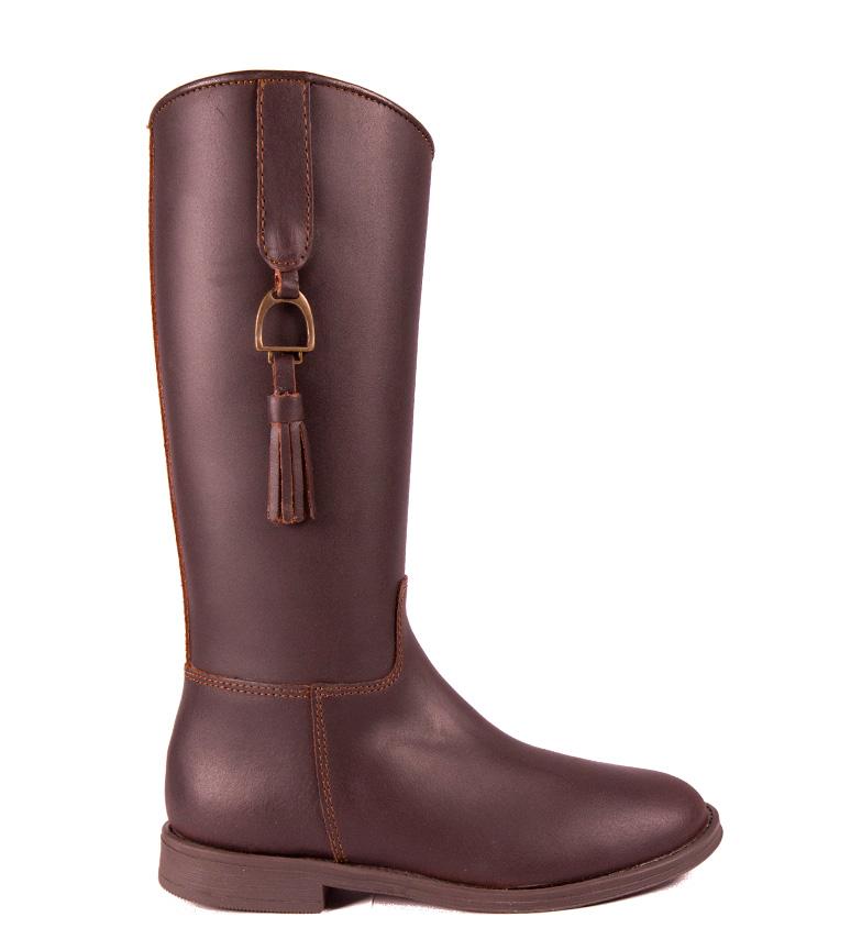 Comprar DAKOTA BOOTS Botte en cuir couleur marron
