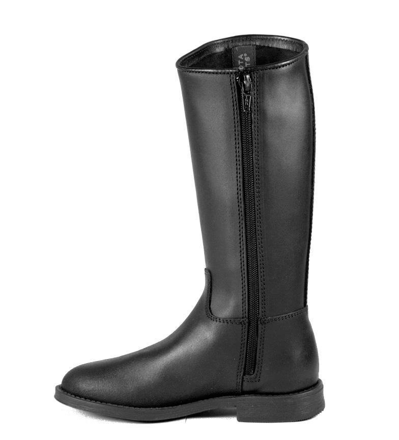 Bota color BOOTS piel de DAKOTA negro en f5S6wqcT7