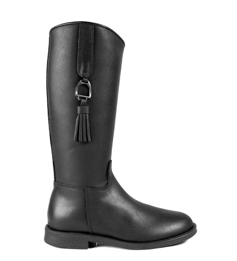 Comprar DAKOTA BOOTS Bottes en cuir en noir