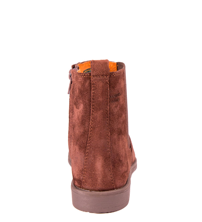Dakota Boots - Botín de piel en color testa afl3xqd7XR