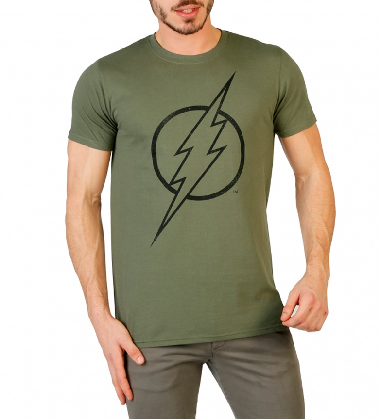 rojo DC Camiseta Comics DC Flash Comics wq4dCXqP