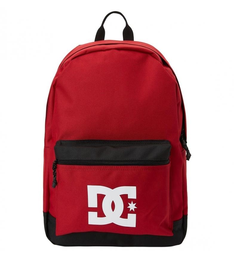 DC Shoes Níquel 2 mochila vermelha -46x32cm