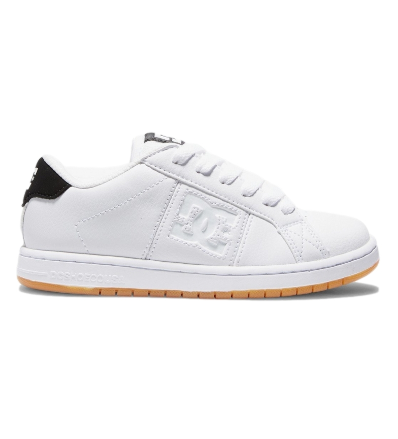 Comprar DC Shoes Sneaker Striker in pelle bianca