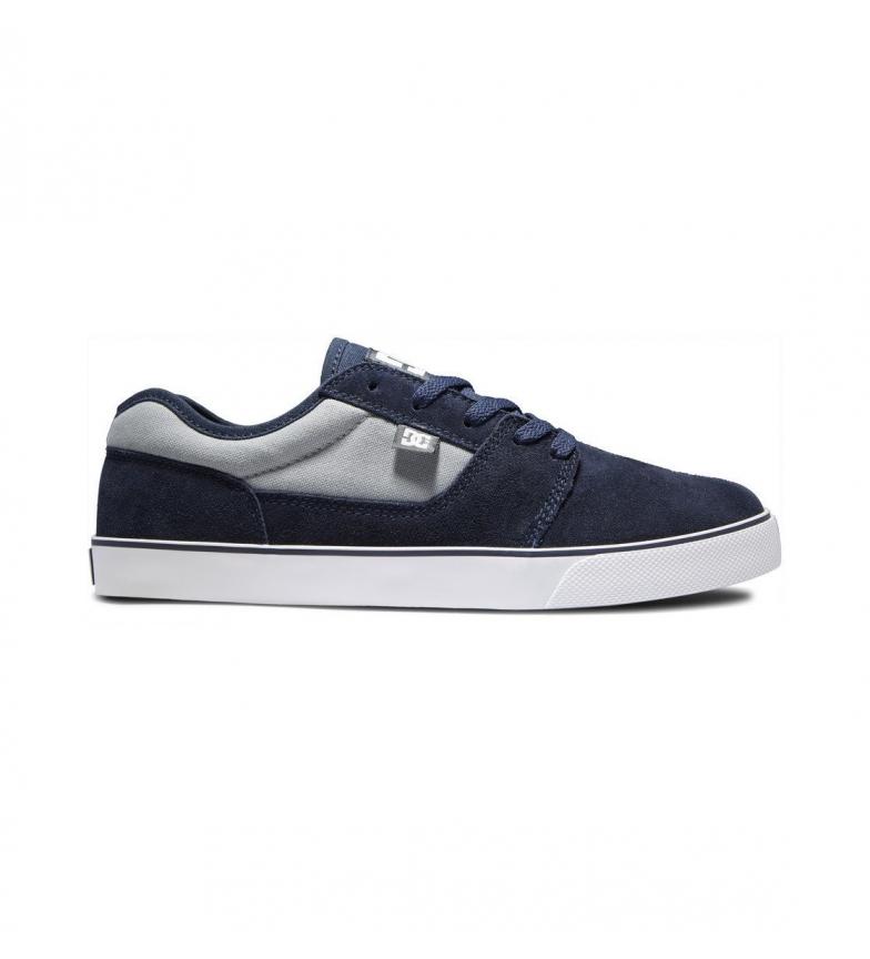 Comprar DC Shoes Baskets en cuir bleu marine Tonik