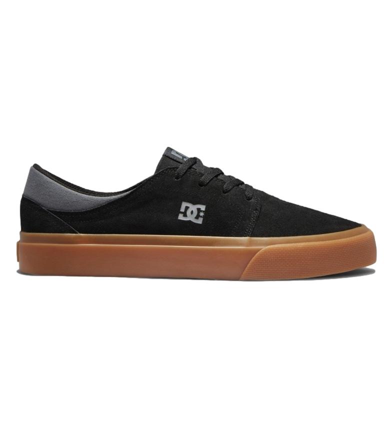 Comprar DC Shoes Trase SD tênis de couro preto