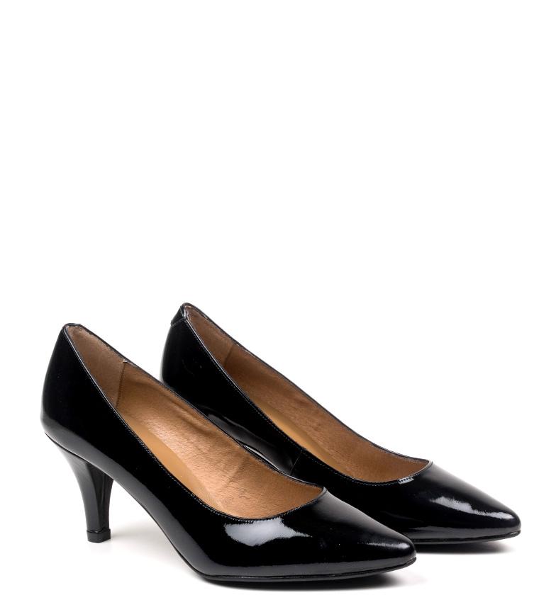 Zapatos negro piel Altura tacón Erlea 6 D´Chicas cm de dwIxpqEMC