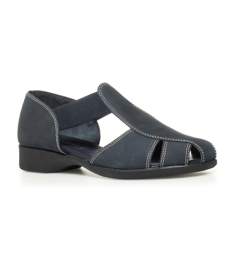 nobuck Zapatos piel 5cm Altura tacón II 2 blanco D´Chicas Sina de XpaXdq